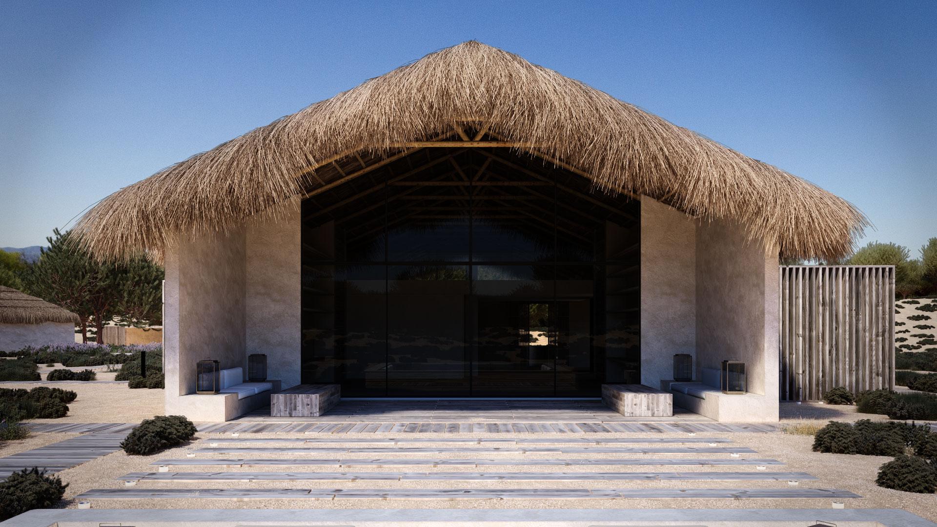 Projeto cabana na comporta de cristina jorge de carvalho