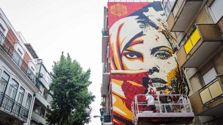 Mural de Shepard Fairey