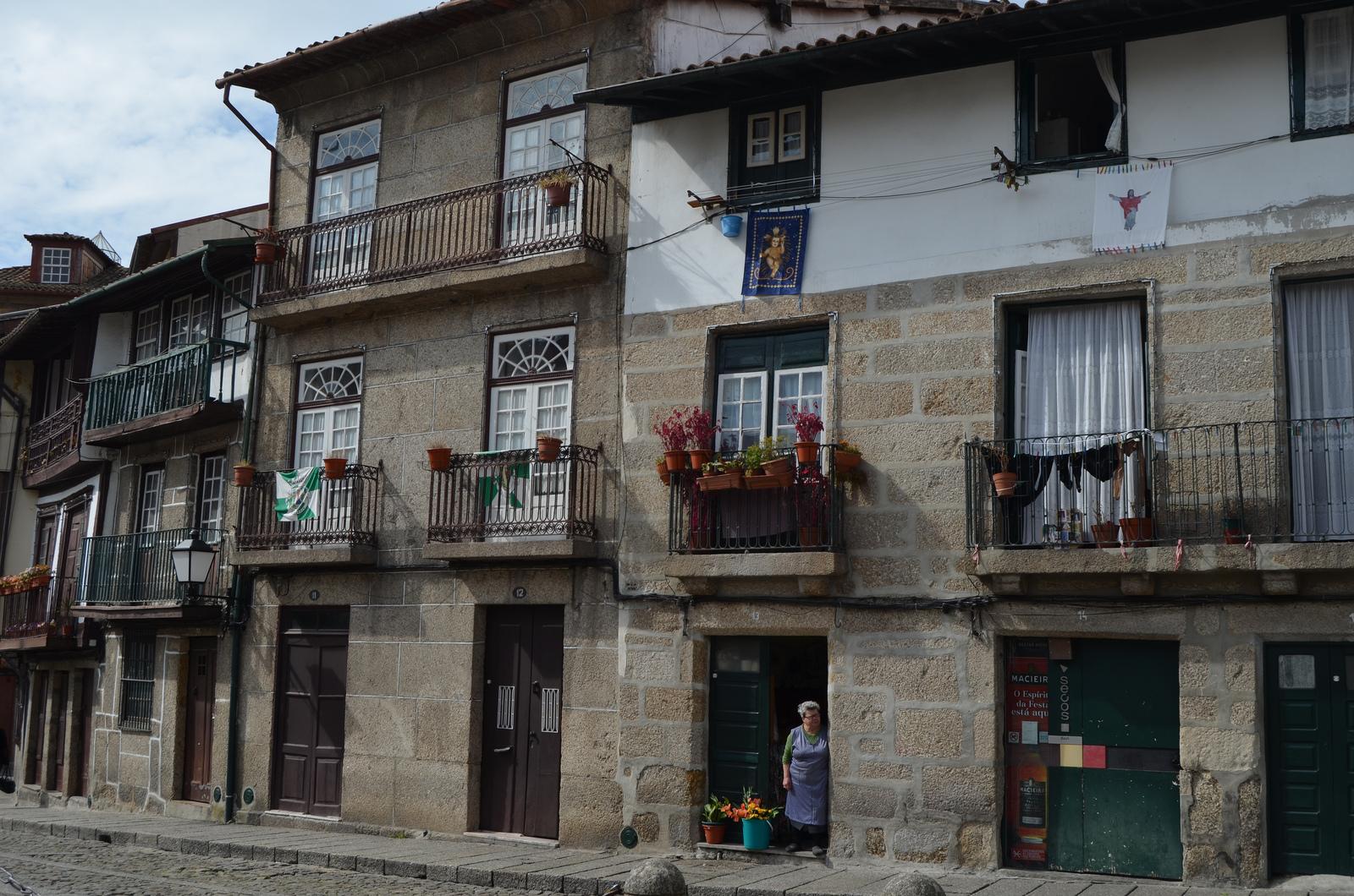 Casas típicas Guimarães, Portugal