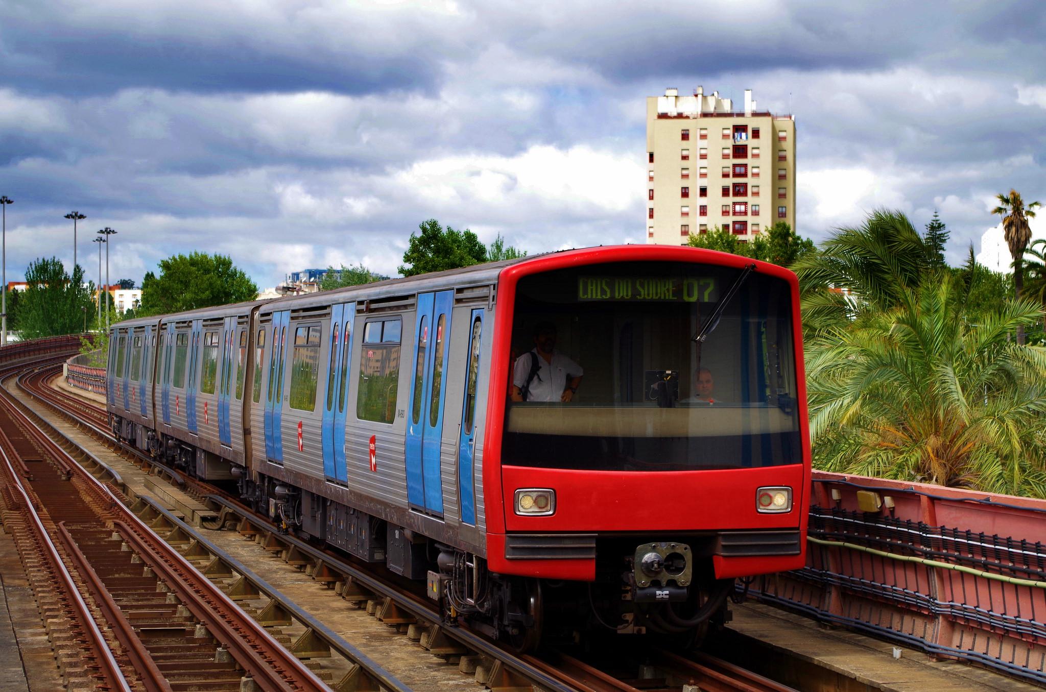Comboio CP Transportes Lisboa