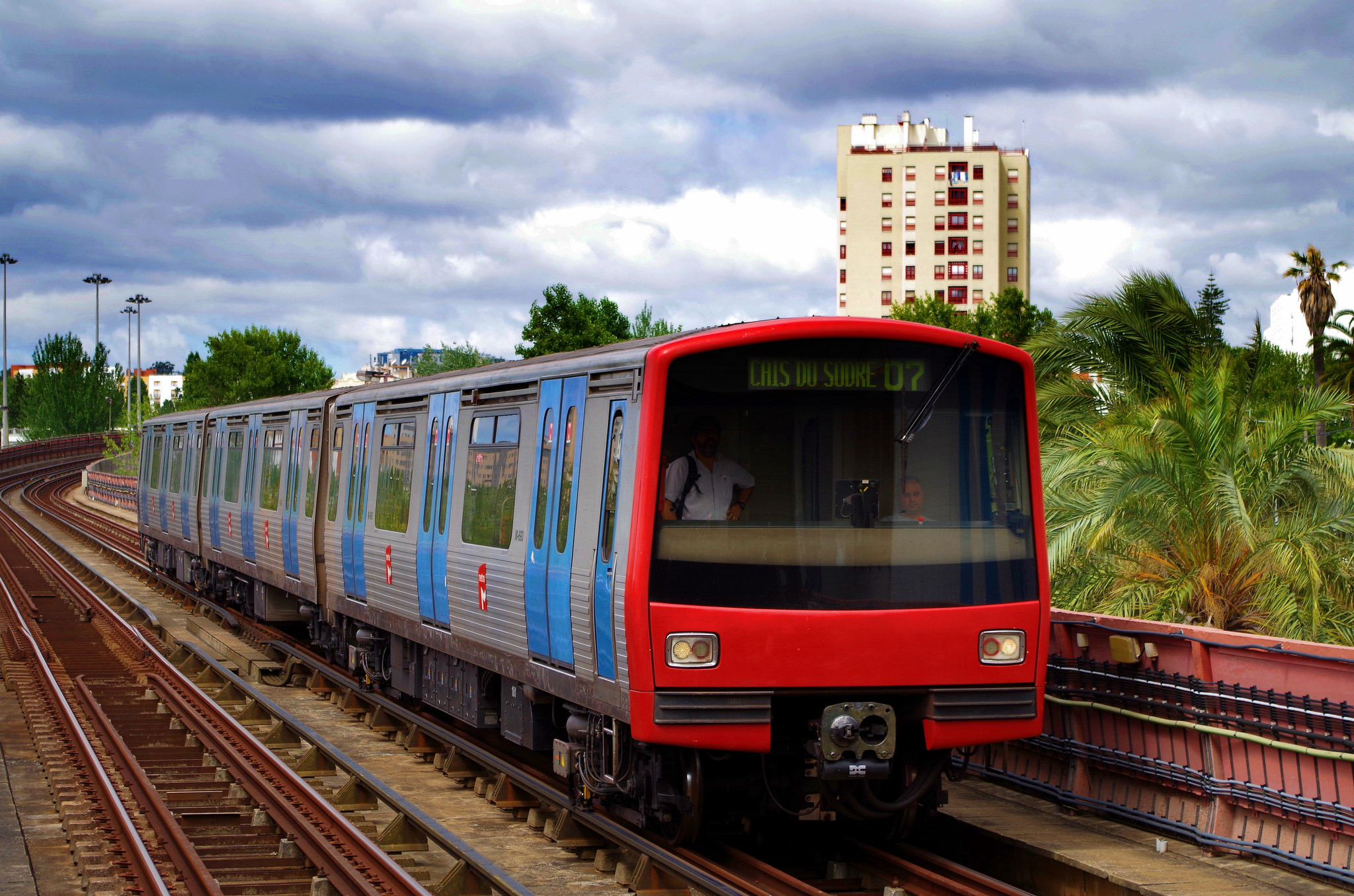 Comboio CP Transports Lisboa