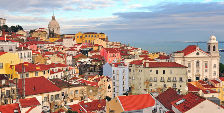 A cor de Lisboa