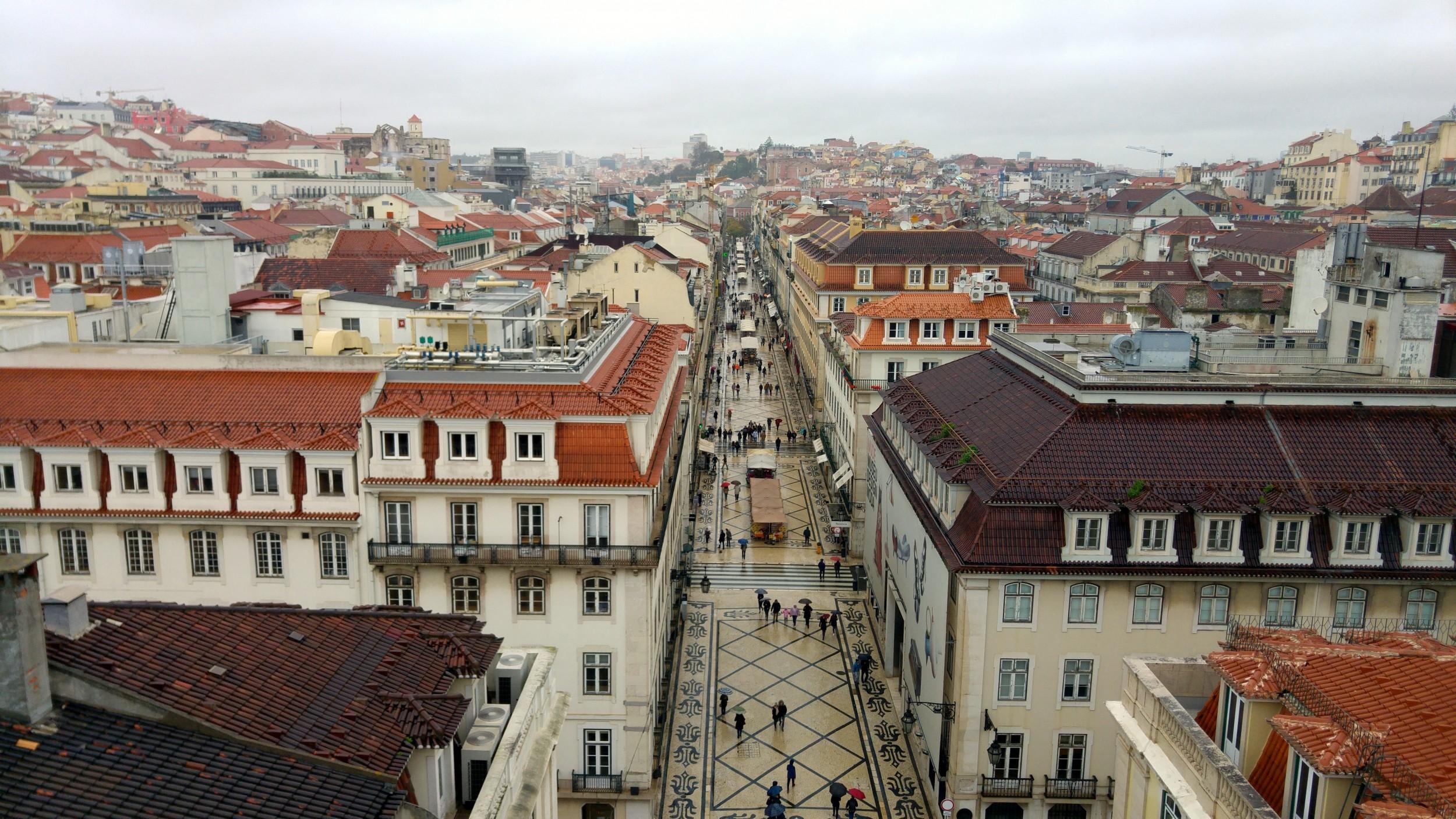 Miradouro da Rua Augusta, Lisboa
