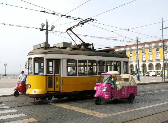 Tuk Tuk à Lisbonne