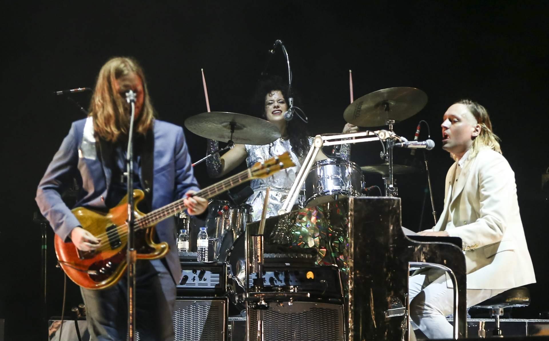 Arcade Fire au Rock in Rio à Lisbonne