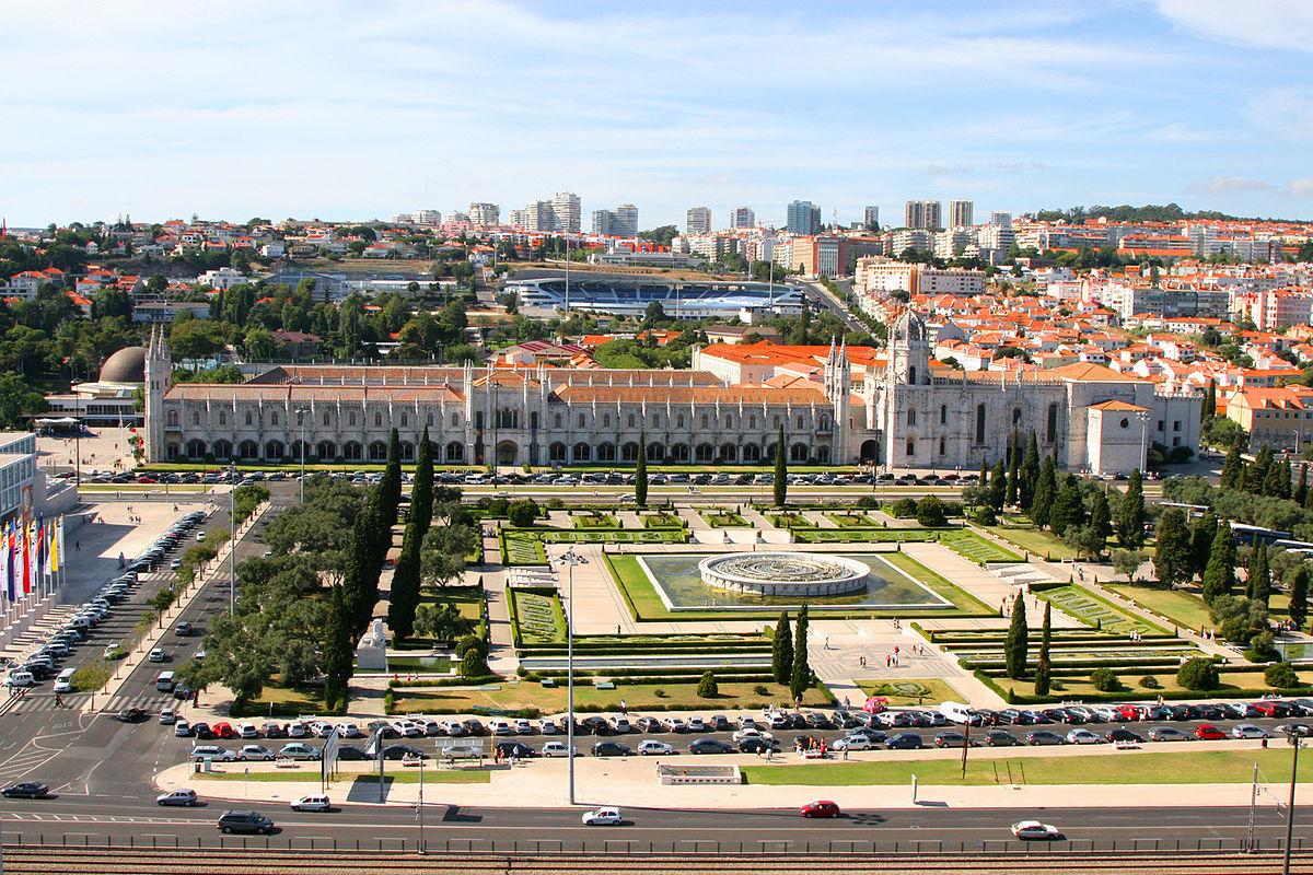 Vista aérea para Belém