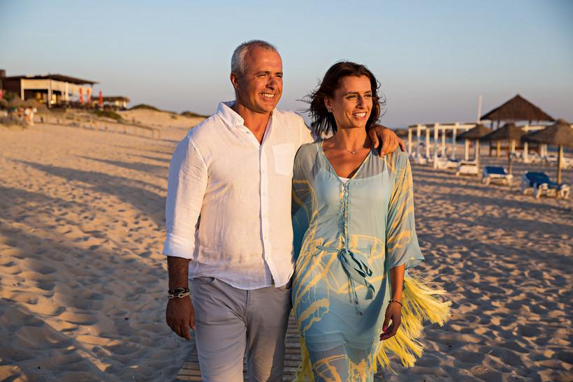 Luís Carvalho e Patrícia Silva