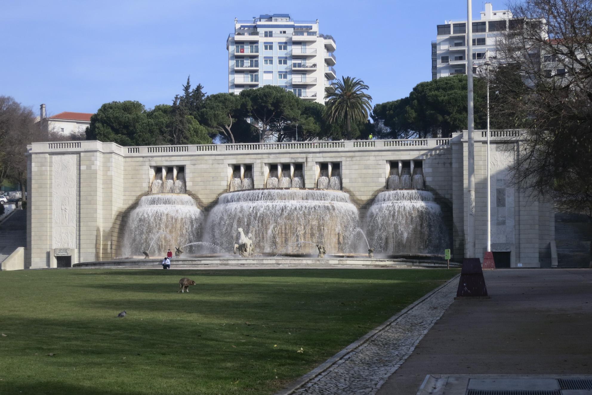 Fonte Monumental da Alameda, Lisboa