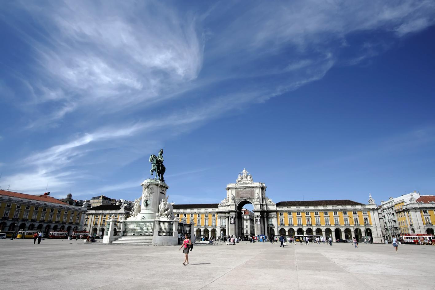 Praça do Comércio, Lisbonne