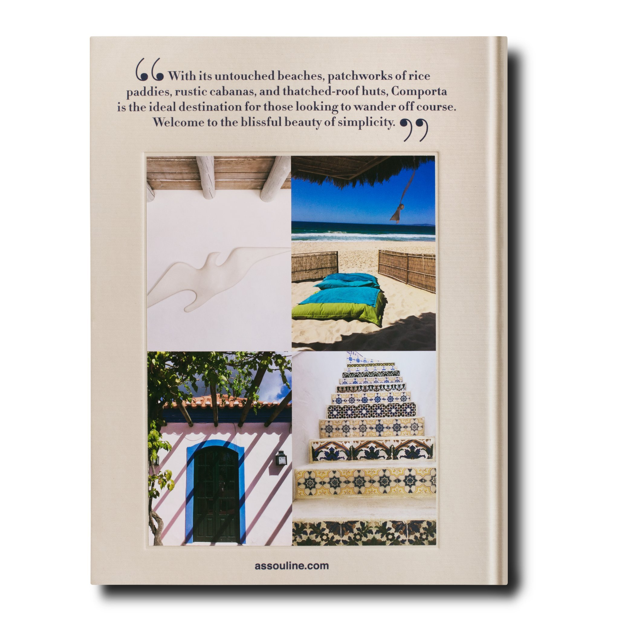 Contracapa Comporta Bliss © Assouline
