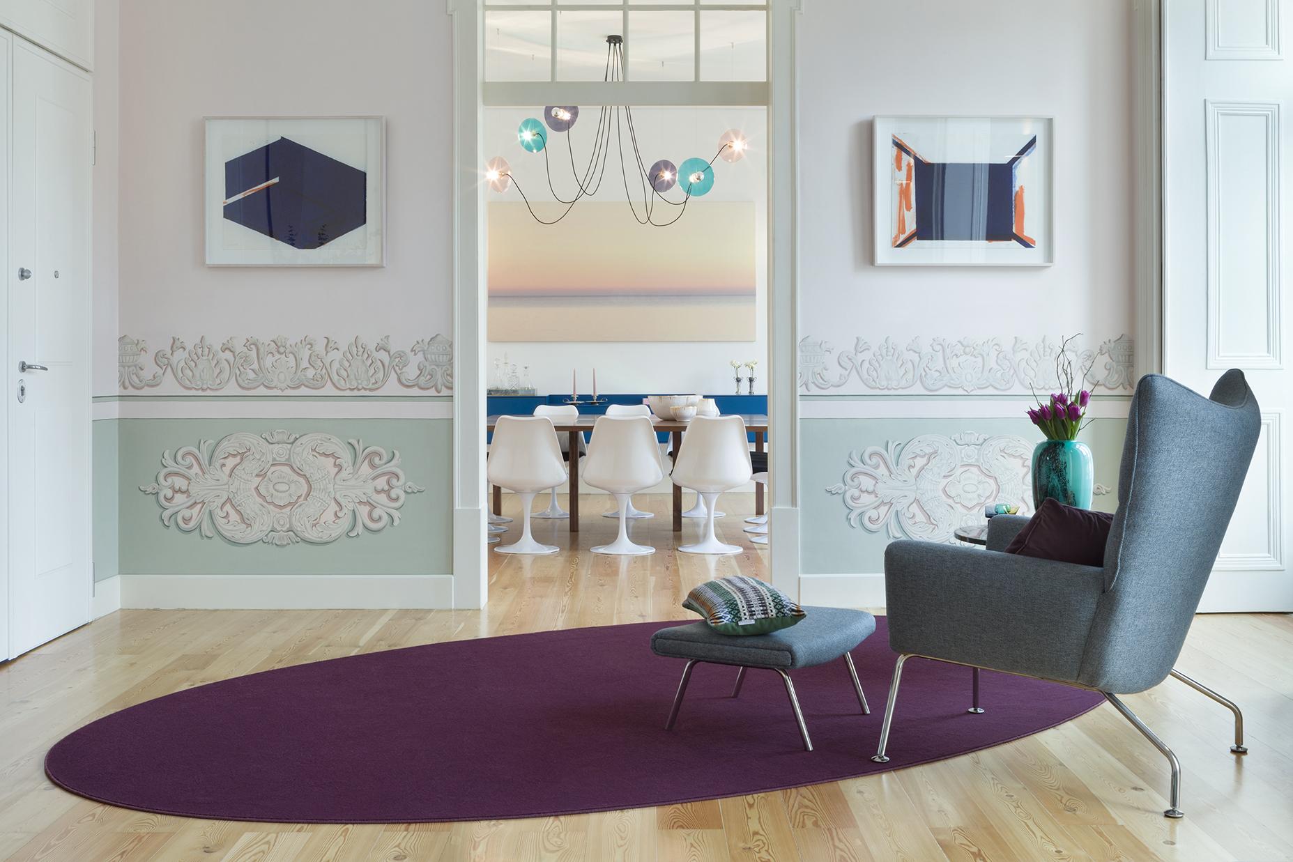 Projecto de interiores em Lisboa da autoria de Tiago Patrício Rodrigues
