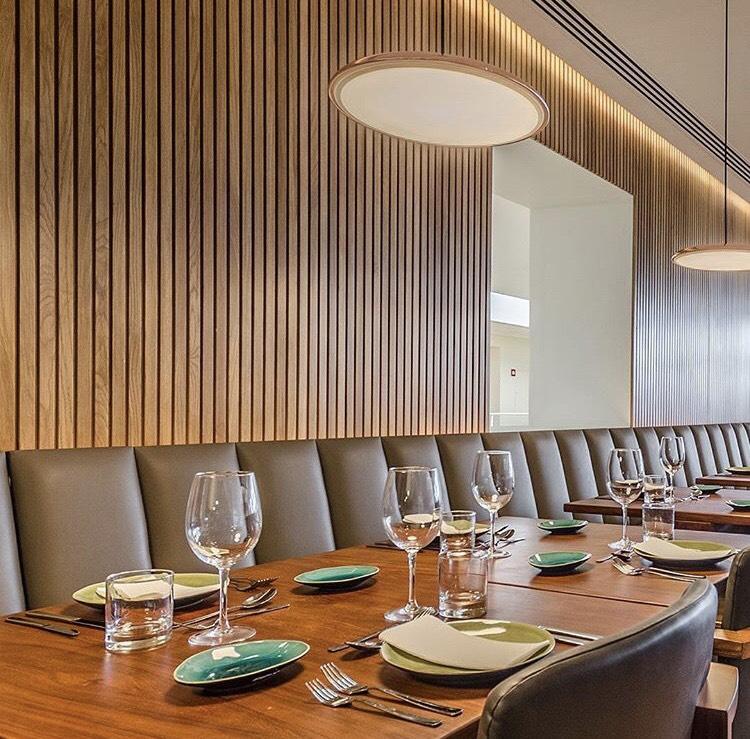 A sala de refeições do TOPO de Belém
